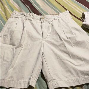 Men's Pleated Shorts. EUC
